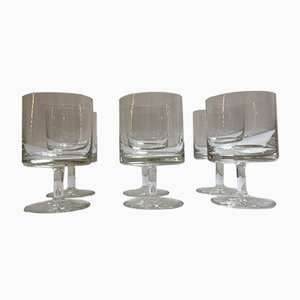 Mid-Century Kiruna Series Glasses by Klaus Breit for Wiesenthalhütte, 1964, Set of 6