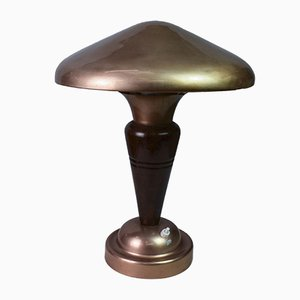 Art Deco Mushroom Table Lamp