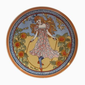 No.1 Unicef Collection Plate by Louis Payen for Villeroy & Boch, 1970s