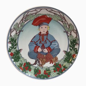 No. 7 Unicef Collection Plate by K. Blume for Villeroy & Boch, 1970s