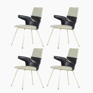 Model DU 20 Chairs by Gastone Rinaldi for Rima, 1950s, Set of 4