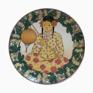No. 4 Unicef Collection Plate by K. Blume from Villeroy & Boch, 1970s