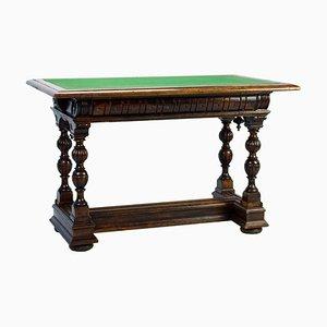 Tavolo rinascimentale intagliato, fine XIX secolo