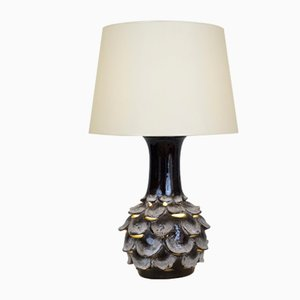 Artichoke Ceramic Lamp, 1970s