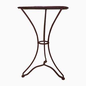 Tavolo da giardino vintage in ferro, Francia, anni '20