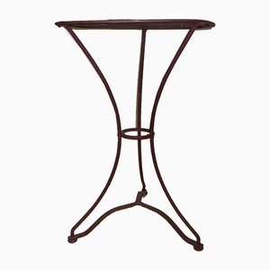 Vintage French Iron Garden Table, 1920s
