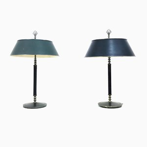 Vintage Table Lamps by Harald Notini for Böhlmarks Lampfabrik, Set of 2