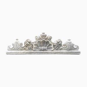 Antique French Limestone Gable