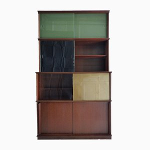 Vintage Bookcase by Didier Rozaffy for Oscar, 1970s