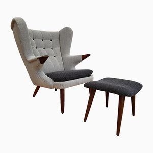 Papa Bear Lounge Chair by Svend Skipper, 1960s