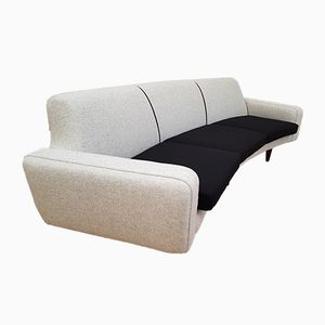 Model 450 Banana Sofa by Illum Wikkelsø for Aarhus Polstrermøbelfabrik, 1960s