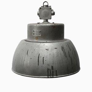 Lampada vintage industriale in alluminio