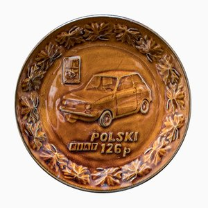 Fiat 126p Wall Plate, 1970s