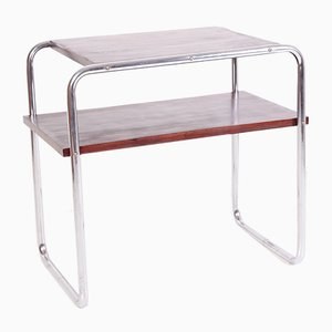 Table Console en Chrome Tubulaire par Marcel Breuer pour Kovona Karvina, 1949