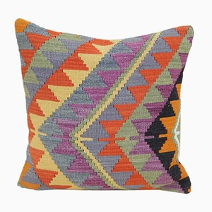 Turkish Kilim Cushion Cover from Vintage Pillow Store Contemporary, 2010s
