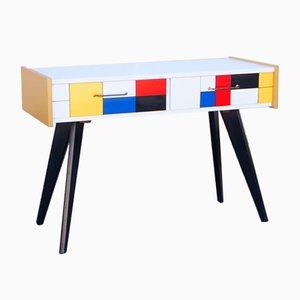 Comò Marcon nello stile di Mondrian, anni '60