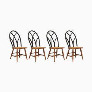 Vintage Side Chairs, Set of 4