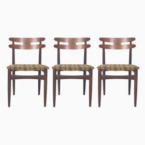 Dänische Modell 178 Stühle von J. Andersen für Bramin, 1960er, 3er Set