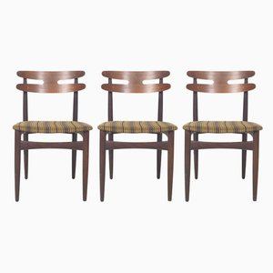 Danish Model 178 Chairs by Johannes Andersen for Bramin, 1960s, Set of 3