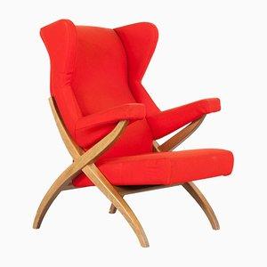 Vintage Fiorenza Stuhl von Franco Albini für Arflex,1950er