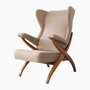 Italian Fiorenza Armchair by Franco Albini for Arflex, 1952
