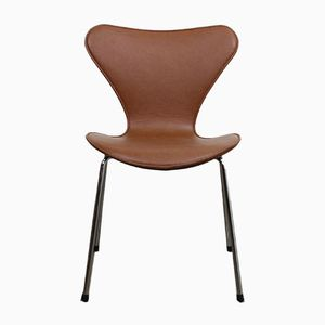 Series 7 Butterfly Dining Chairs by Arne Jacobsen for Fritz Hansen, 2000s, Set of 6