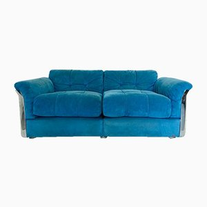 Vintage Model Larissa 2-Seater Sofa by Vittorio Introini for Saporiti Italia, 1970s