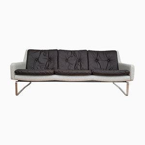Mid-Century Danish Black & Grey Sofa, 1970s