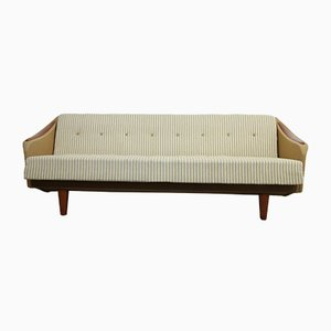Vintage Danish Daybed with Teak Details, 1960s