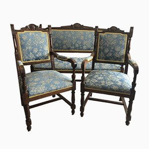 Antique Sofa & Armchair Set