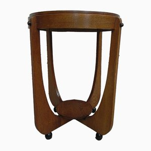 Art Deco Amsterdam School Side Table