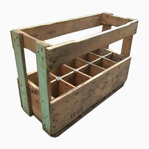 Wooden Bottle Crate, 1966