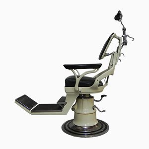 Vintage Cast Iron Dental Chair from Ritter, 1930s