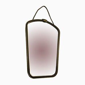 Spiegel aus Messing, 1960er
