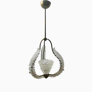 Lámpara de techo vintage de Barovier & Toso