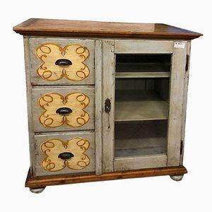 Lackiertes Sideboard aus Holz, 1800er