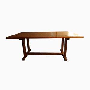 Scandinavian Pine Shaker Dining Table