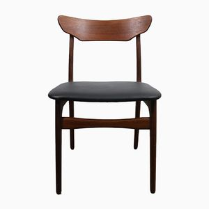 Vintage Danish Teak Dining Chairs from Schiønning & Elgaard, Set of 6