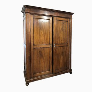 Louis Philippe Walnut Wardrobe, 1800s