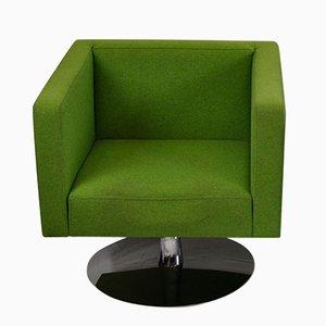 Grüner Vintage Sessel von Alfredo Häberli, 1980er