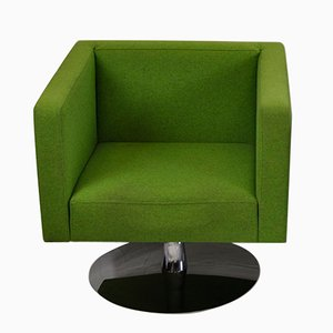 Vintage Green Armchair by Alfredo Häberli, 1980s