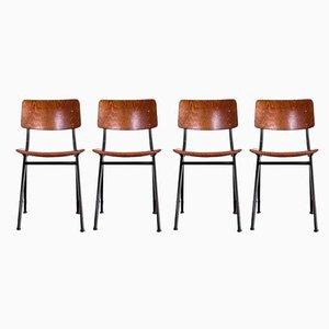 No. 202 Chairs by Ynske Kooistra for Marko Holland, 1960s, Set of 4