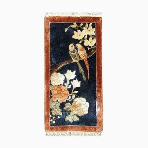 Chinesischer Art Deco Teppich, 1980er