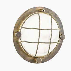 Lampada da soffitto di Holophane, anni '50