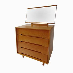 Cumberland Range Chest of Drawers with Mirror by John & Sylvia Reid for Stag, 1950s