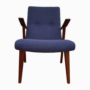 Mid-Century Teak Lounge Chair, 1950s