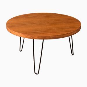 Tavolino da caffè impiallacciato in teak, anni '60