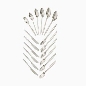 Variation V Flatware Set by Jens J. Quistgaard for Dansk Finland, 1960s
