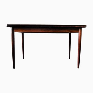 Mesa de comedor extensible vintage de palisandro