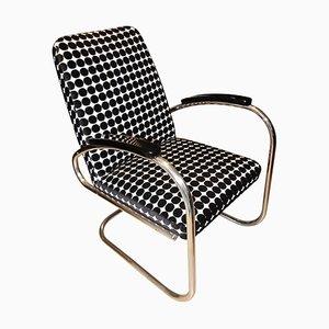 Chaise Style Bauhaus en Acier Tubulaire, Allemagne, 1920s